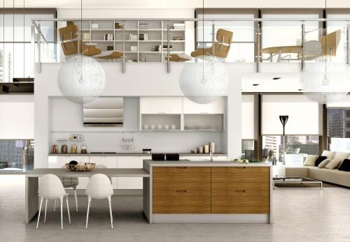 Baño De Planta Abierta:cocinas planta abiertas loft Cocinas de Planta Abierta – Lofts