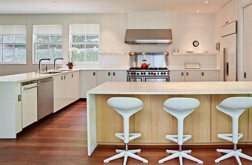 Decoraci n e ideas para mi hogar cocinas blancas con for Decoracion e ideas para mi hogar