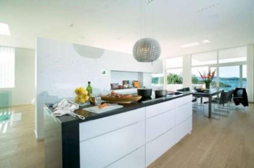 Dise os de interiores exteriores y espacios abiertos - Casas con espacios abiertos ...