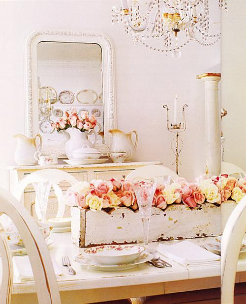 estilo-shabby-chic-comedor