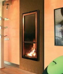 modernas chimeneas pared odissey 216x250 Modernas Chimeneas de Pared
