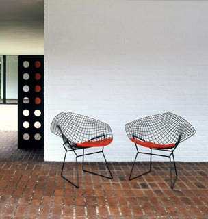 silla diamond Clásicos del Diseño: Silla Diamond de Harry Bertoia