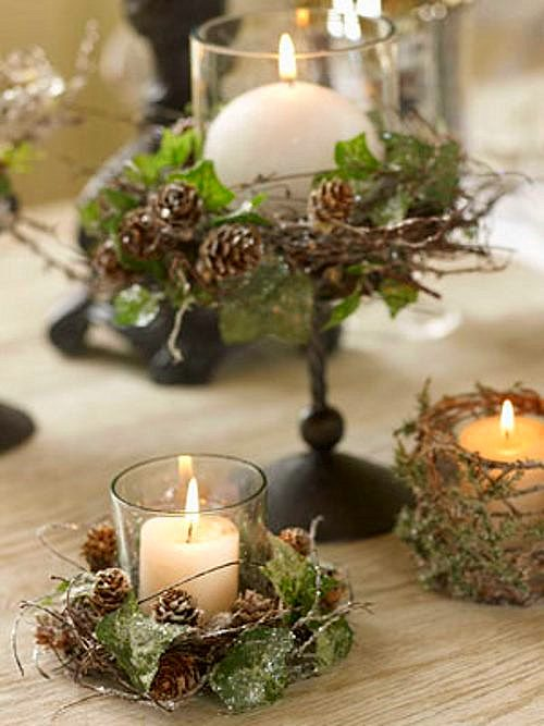 Centros de mesa originales imagui - Mesa para navidad decoracion ...
